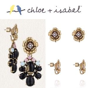 🆕 Dolce Convertible Statement Earrings c+i E331